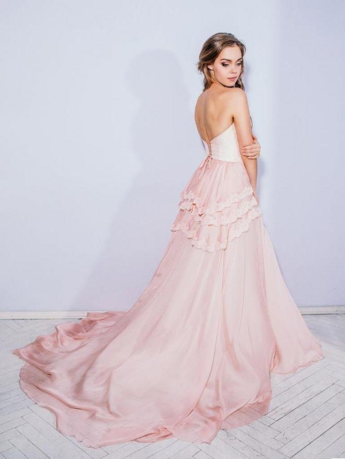 Beautiful  Gorgeous Blush Wedding Gowns