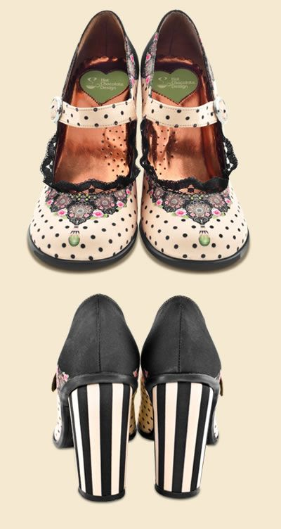 fe1eaaaa96ea Find this Pin and more on Chocolaticas® Mary Jane Shoes. hot chocolate  design ...