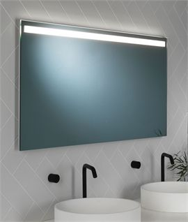 New Polished Chrome Frame LED Illuminated Mirror W mm