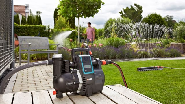 Hauswasserautomat: Gardena smart Pressure Pump