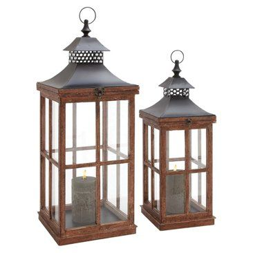 Check out this item at One Kings Lane! Classic Lanterns, Asst. of 2