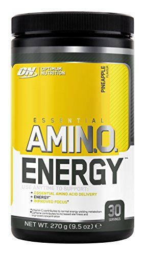 Optimum Nutrition Amino Energy Powder, Pineapple, 9.5 Ounce