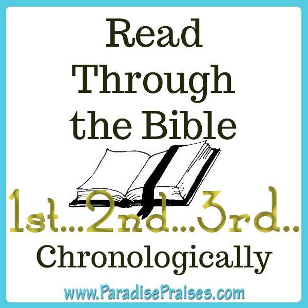 FREE 2016 Bible Reading Plan + 30-Day Bible Reading ...