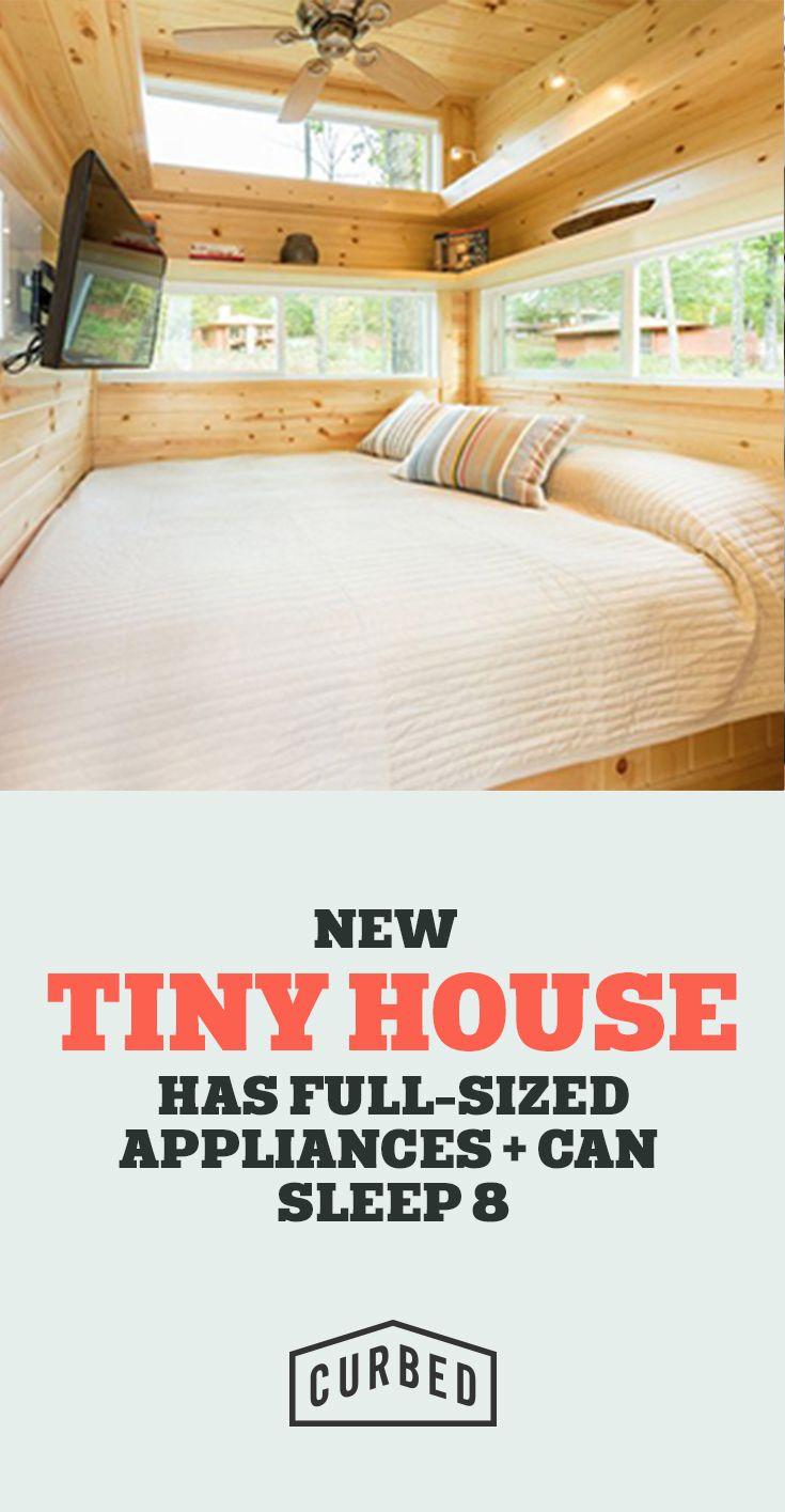 Tiny house can sleep a family of 8!