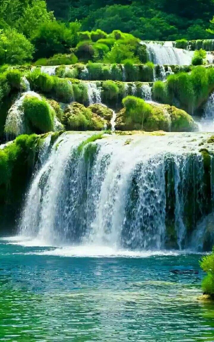 водопады обои на телефон вертикальные савеловская