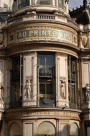 ✕ Printemps department store, Paris / #shop #paris #facade