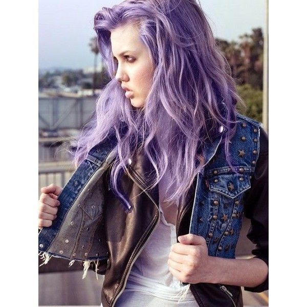 Light Purple Hair Dye ❤ liked on Polyvore featuring beauty products, haircare, hair color and hair