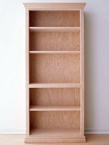 Best Libreros Bookcase Images On Pinterest Wood Oak - Making bookshelves