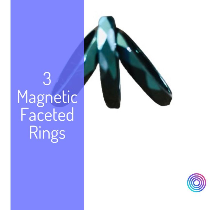 energy Lovely gift for ladies use for arthritis and painful fingers 2 Magnetic Gold Rings with Silver Hearts with copper underlay