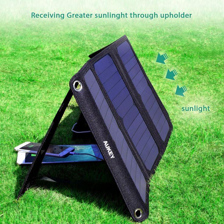 [Recensione] Caricabatterie a Energia Solare AUKEY E ALTERNTIVE PIU' ECONOMICHE