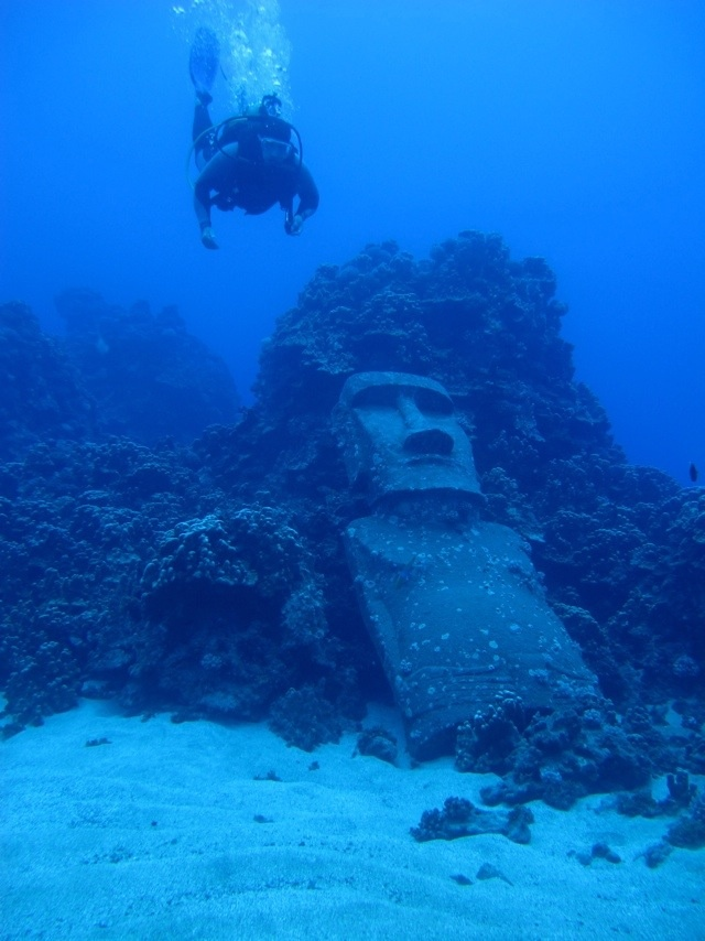 Snorkeling at Easter Island... I WILL do this someday