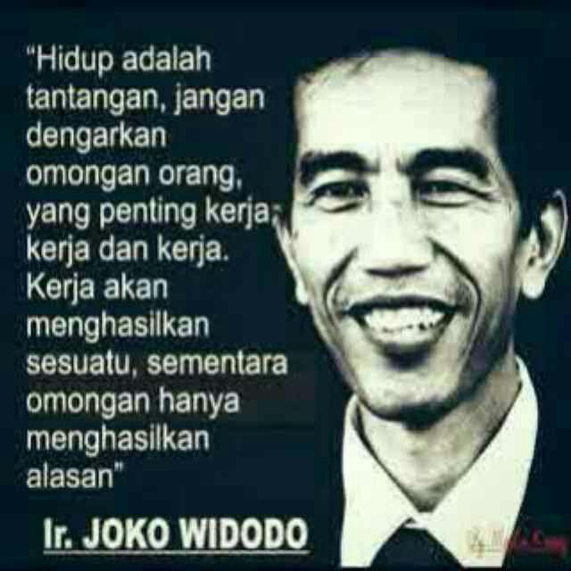 Jokowi Quote
