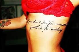 rib quote tattoos - Google Search