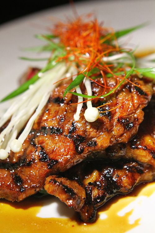 Korean beef shortrib at Jayde Fuzion, M Resort.