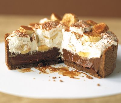 Cheats chocolate Banoffee - add some Vanilla and 1 tbs Camp coffee to the cream, or skip the chocolate for normal banoffee