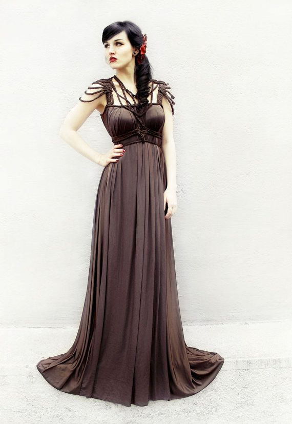 Dress Daphne ROHMY Gold Label /// Exclusive Floor length by ROHMY, €630.00 - this looks pretty awesome