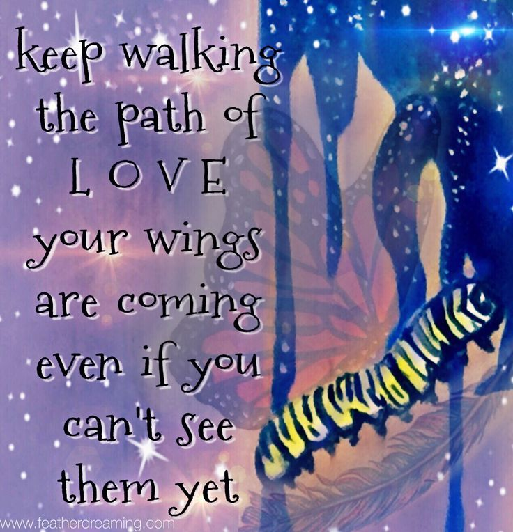 keep on walking the path of love