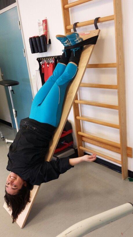 Træning med Annemarie