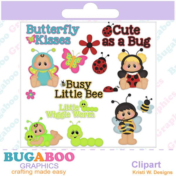 Chubby Bug Clipart Craft Supplies And Tools Graphic Design Baby