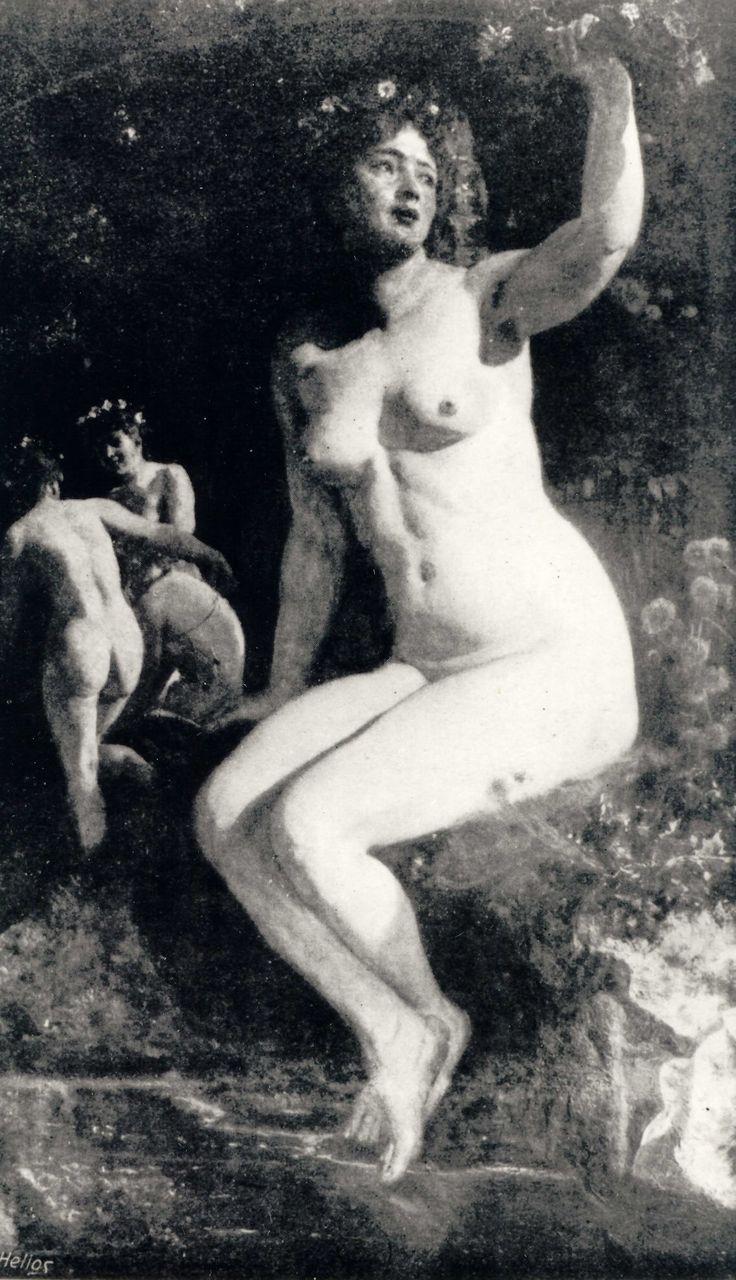 Wojciech Gerson (1831–1901)   Kupała, oil on canvas
