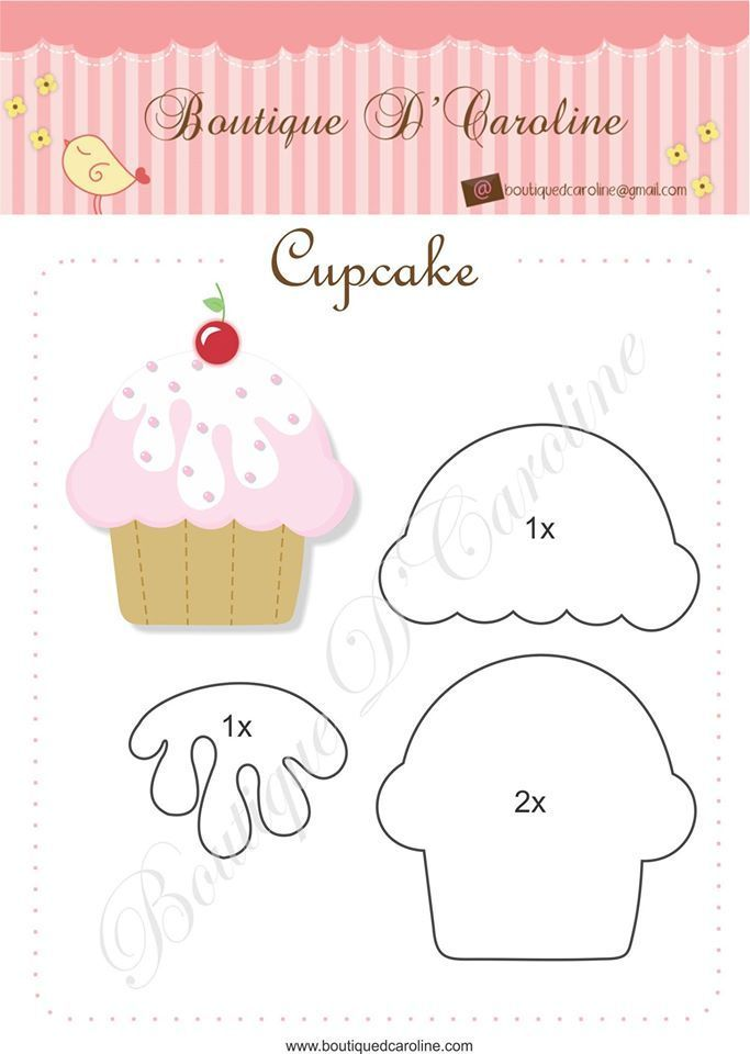 Cupcake muchos modelos