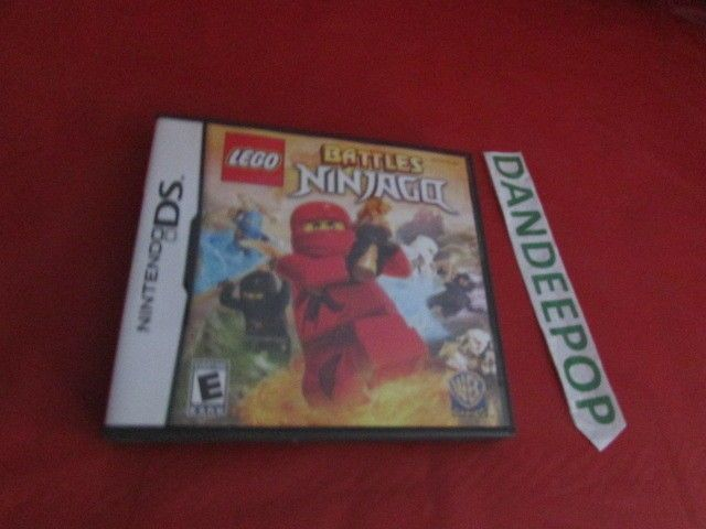 LEGO Battles Ninjago Nintendo DS Video Game #LEGO #Ninjago #Battles #Nintendo #DS #VideoGame #dandeepop Find me at dandeepop.com
