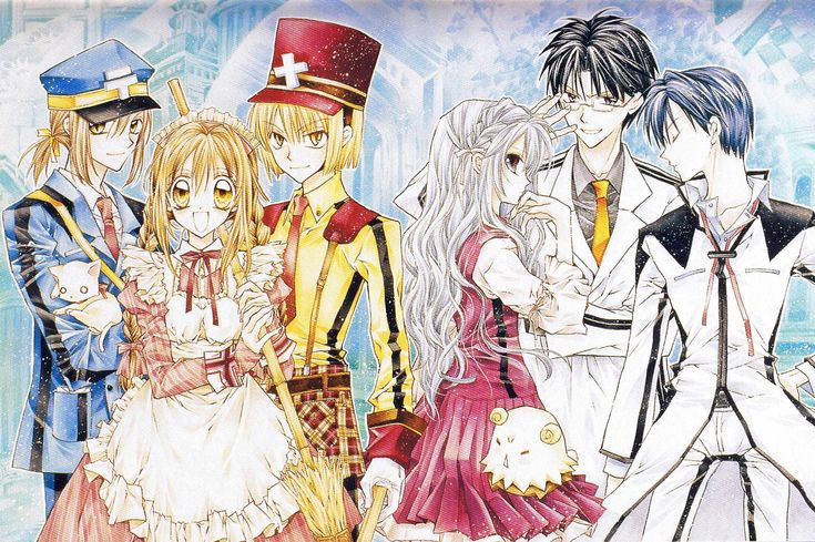 The Gentlemen's Alliance Cross - Arina Tanemura