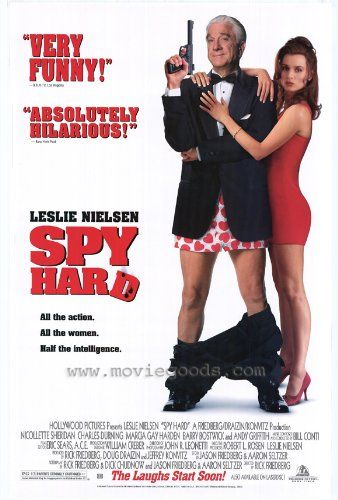 Spy Hard Movie Poster (11 x 17 Inches - 28cm x 44cm) (1996) Style A -(Leslie Nielsen)(Nicolette Sheridan)(Andy Griffith)(Charles Durning)(Marcia Gay Harden)(Barry Bostwick) Spy Hard Poster Mini Promo (11 x 17 Inches - 28cm x 44cm) Style A. The Amazon image is how the poster will look; If you see imperfections they will also be in the poster. Mini Posters are ideal for customizing small spaces; Sam... #MG_Poster #Home