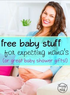 Free Baby Stuff for Expecting Mamas (or great baby shower gifts!).  Especially when it comes to babies, there are so many products out there with outrageous price tags. While occasional splurges on items that will last through multiple kids might work, for other items, I try to buy them on sale or with coupons. Since we have to stick together, I compiled a list of FREE baby stuff for you and your friends.