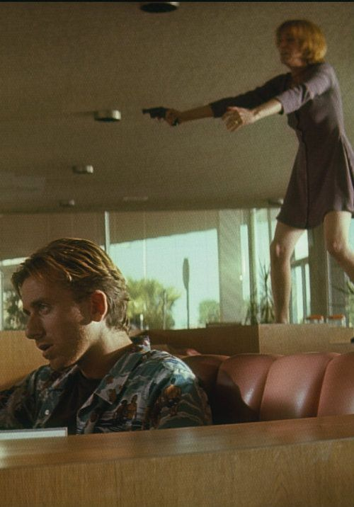 Tim Roth & Amanda Plummer ( pulp fiction by quentin tarrantino) aka Hunny Bunny & Pumpkin!! Yes!!