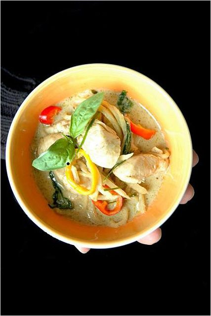 My very favorite Thai food is green curry, and I am determined to learn how to make it at home!