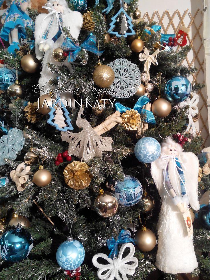 Снежинки, бантики, ангелочки, волшебные  павлины! :)