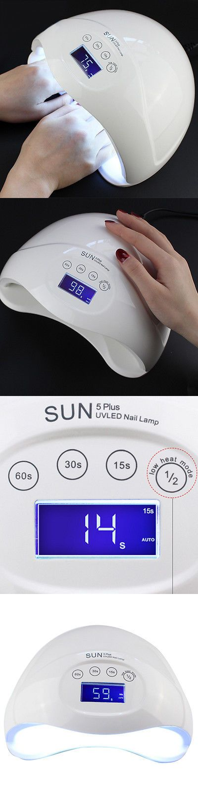 Nail Dryers and UV LED Lamps: Sunuv 48W Sun5 Plus Professional Led Uv Nail Lamp Led Nail Light Nail Dryer Usa -> BUY IT NOW ONLY: $45.49 on eBay!