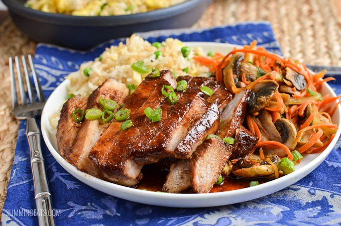 Create a delicious fakeaway meal in your own home with this amazing low syn Chinese Pork. Great served with egg fried rice and some stir fried vegetables.