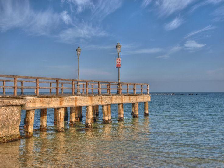 Docks in Paralia Katerini