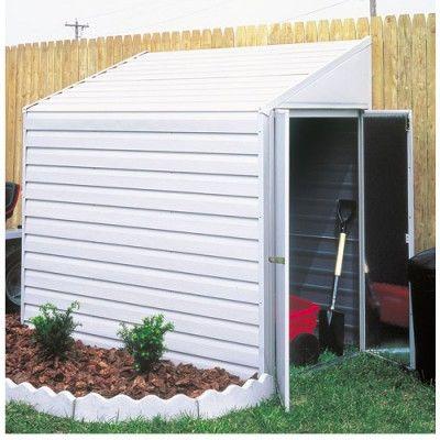 Arrow Yardsaver 4x10 Storage Shed #StorageShedsOutlet & 103 best Metal Sheds images on Pinterest   Arrow Arrows and Steel ...