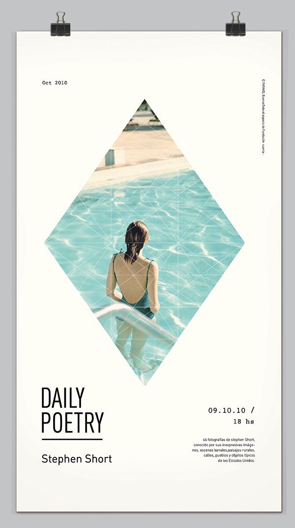 daily poetry | poster