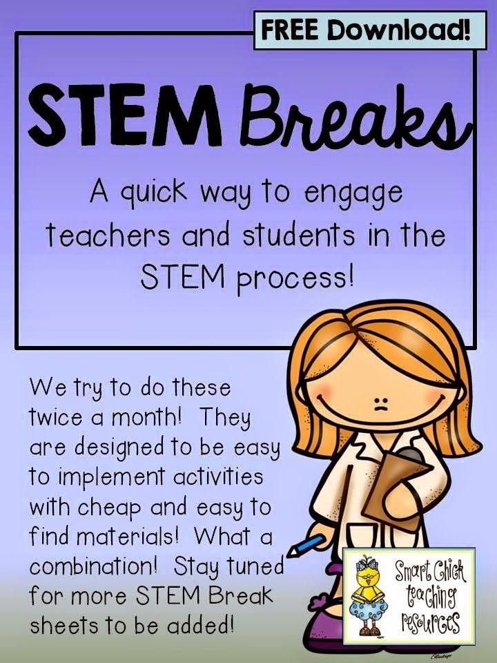 Growing a STEM Classroom: Freebies