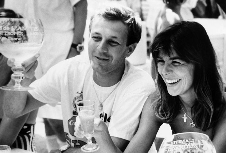 Saint Tropez, Carolina di Monaco e Stefano Casiraghi 1980