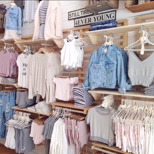 Very nude ,chill, softer coloured clothing! Perfect if you're looking for a more quiet styled outfit.