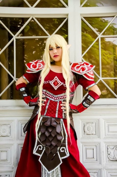 Cosplay: Blood Elf Tier 5 / War Of Warcraft Cosplayer: Kanako Redfield Photography: Arturo Ludeña Rivera Team: DASH Cosplay (Lima, Perú)