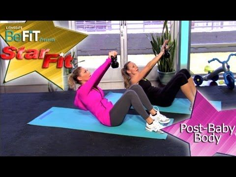 Celebrity Post-Baby Body Workout- Star Fit. Follow DWTS alum Kym Johnston each week as she introduces workouts from Hollywood's top trainers.