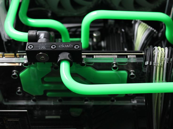 The EKWB GPU blocks are a work of art!