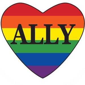 I will forever be a straight ally for LGBT rights to stand up for my friends.