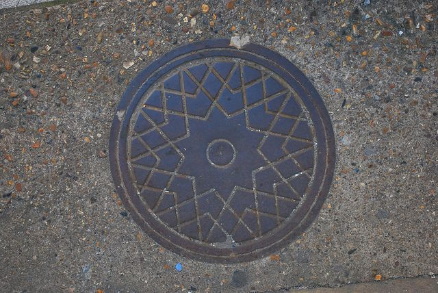victorian coal chute cover, Margate | Flickr - Photo Sharing!