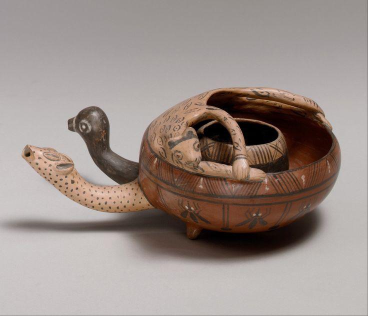 Double bowl inca inca metropolitan museum