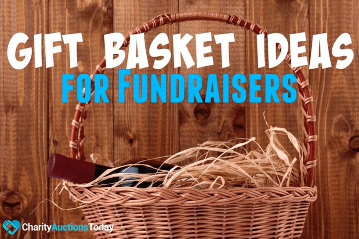 33 Gift Basket Ideas for Fundraisers.  Any time of year you are planning a fundraiser, gift baskets are an ideal option. Who doesn't enjoy getting a themed gift basket full of goodies? Baskets are versatile.   #fundraiser #GiftBasket  Create your online fundraising campaign at http://gogetfunding.com