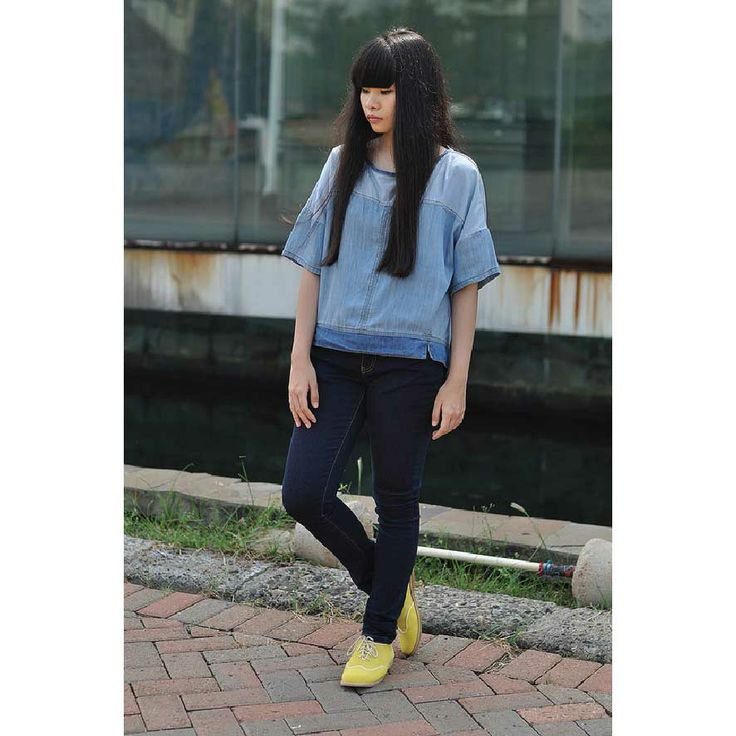 Indonesia Blogger Mitha Komala with her Yello Choca