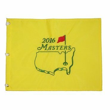 2016 Masters Tournament Souvenir Pin Flag by Great Golf Memories. 2016 Masters Tournament Souvenir Pin Flag.