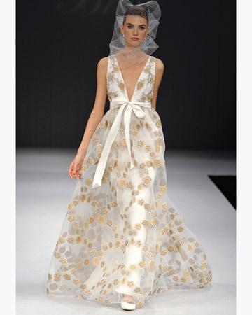 Gold wedding gown   Gold wedding dress   Gold ball gown   Gold ball dress